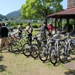 いろんなタイプのレンタサイクルを用意してます。クロスバイク、マウンテンバイク、電動アシスト自転車、ママチャリ。